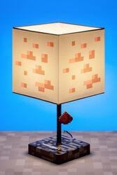 Lámpara Minecraft