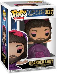 Greatest Showman Figura Vinilo Bearded Lady 827