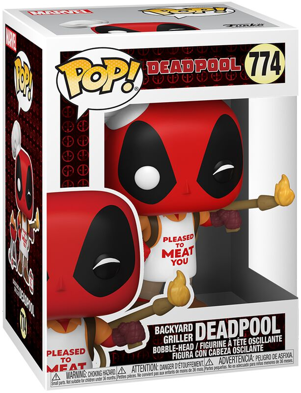 Figura vinilo 30th Anniversary - Deadpool Backyard Griller 774