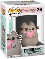 Figura Vinilo Pusheen with Heart 26
