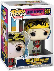 Figura Vinilo Harley Quinn Roller Derby 307