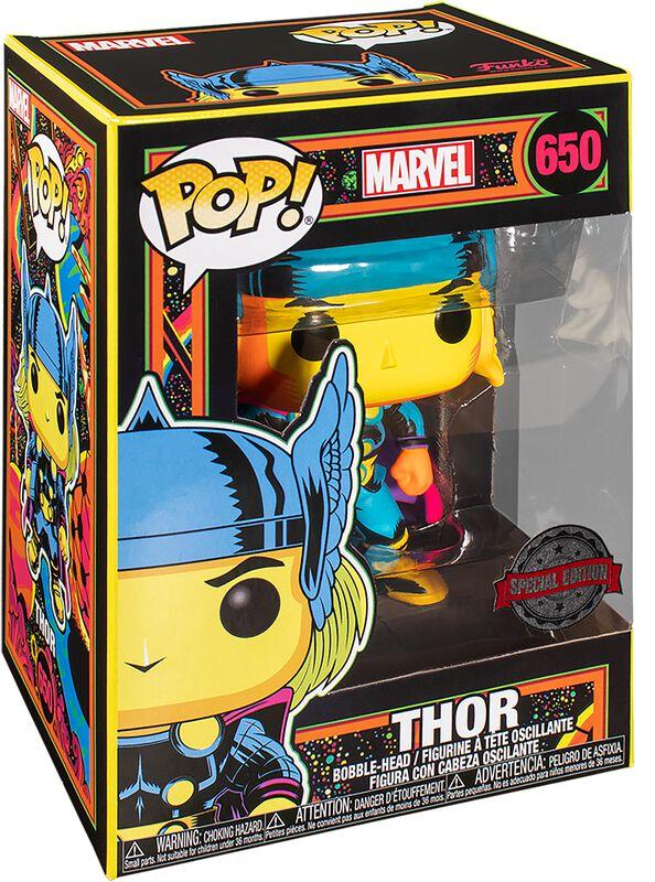 Figura vinilo Black Light - Thor 650