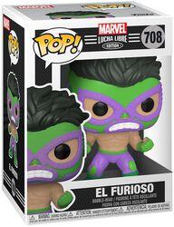 Figura vinilo El Furioso - Marvel Luchadores - 708