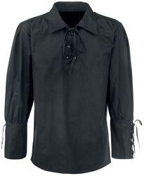 Medieval Camisa Encaje
