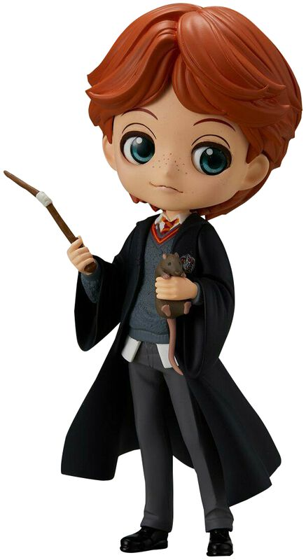 Ron Weasley with Scabbers - Q-Posket Figure