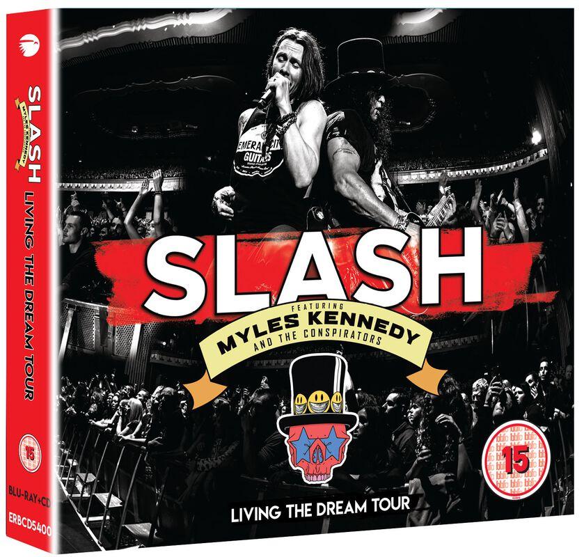 Slash Feat. Myles Kennedy & The Conspirators Living the dream tour