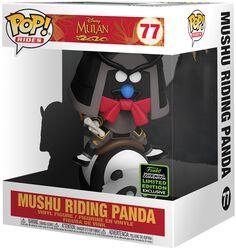 Figura vinilo ECCC 2020 - Mushu Riding Panda (POP Rides) 77