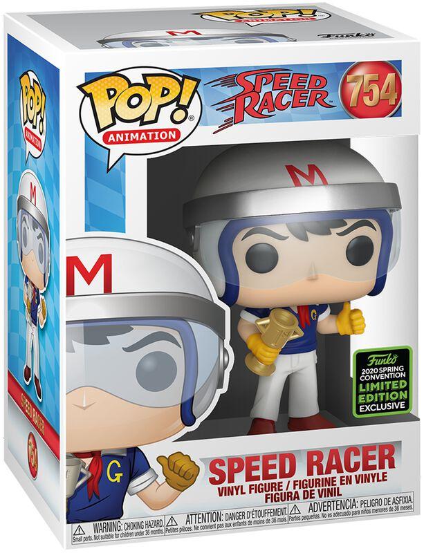 Speed Racer Figura vinilo ECCC 2020 - Speed Racer with Trophy 754