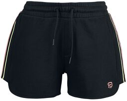 RED X CHIEMSEE - Black Shorts with Logo
