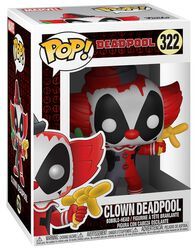 Figura Vinilo Clown Deadpool 322