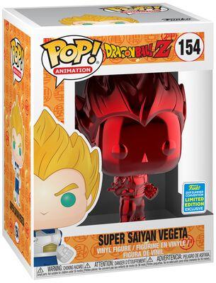 Figura Vinilo Z- SDCC 2019 - Super Saiyan Vegeta (Red Chrome) 154