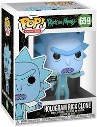 Figura Vinilo Hologram Rick Clone 659