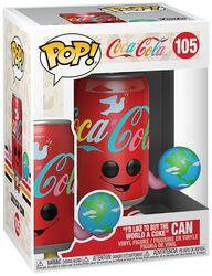 Figura Vinilo I'd Like to Buy the World a Coke Can 105