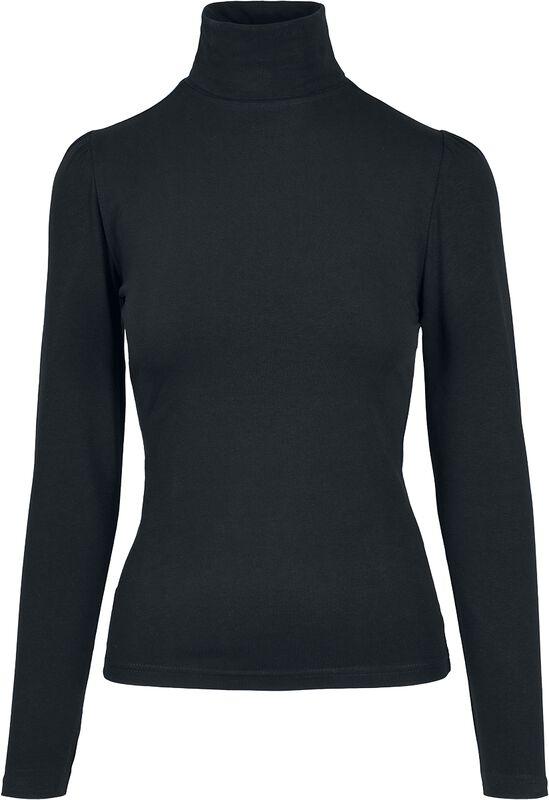Ladies Puffer Sleeve Turtleneck L/S