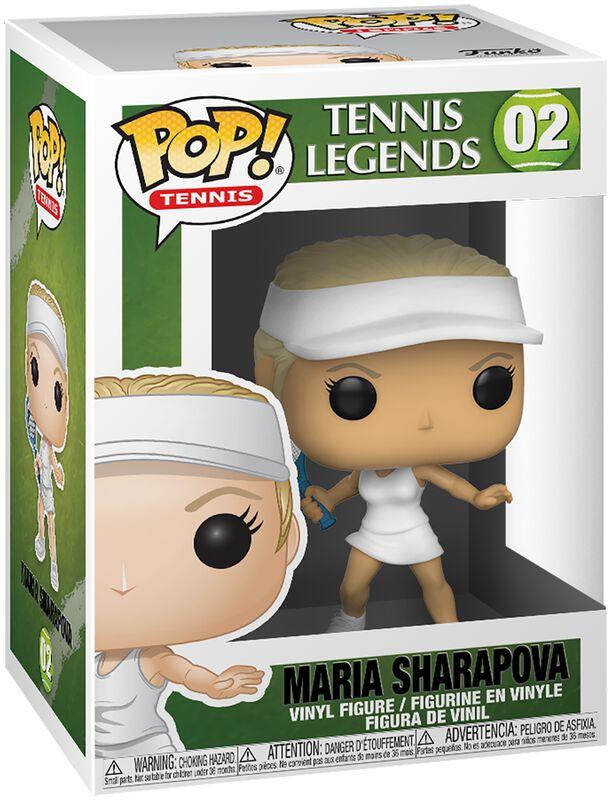 Figura vinilo Maria Sharapova 02