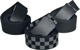 Cinturones 3-Pack