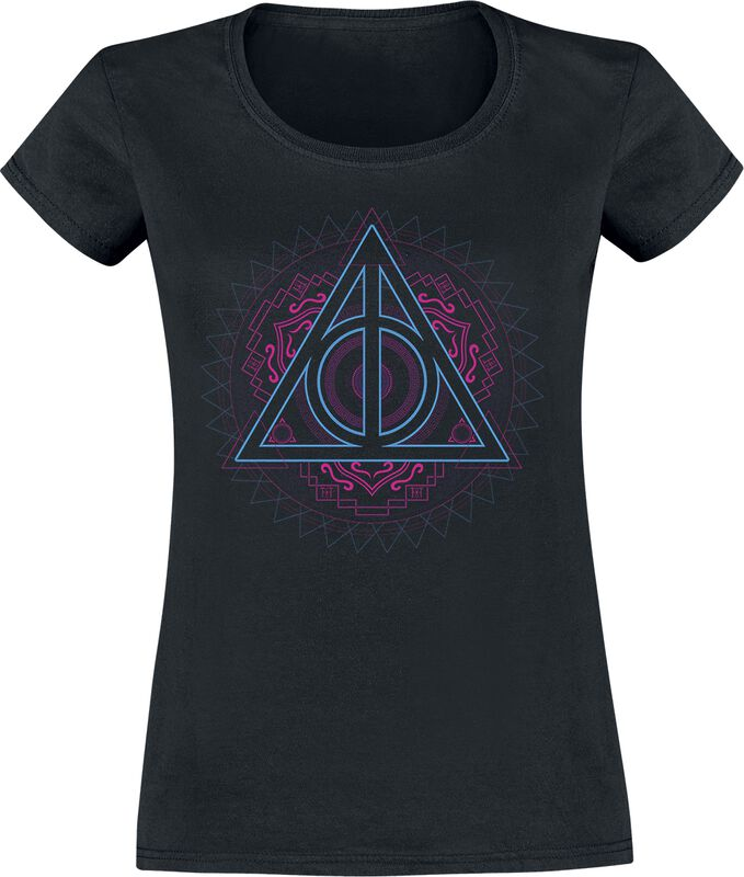 Neon Deathly Hallows