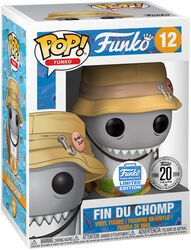 Figura Vinilo Spastik Plastik - Fin Du Chomp (Funko Shop Europe) 12