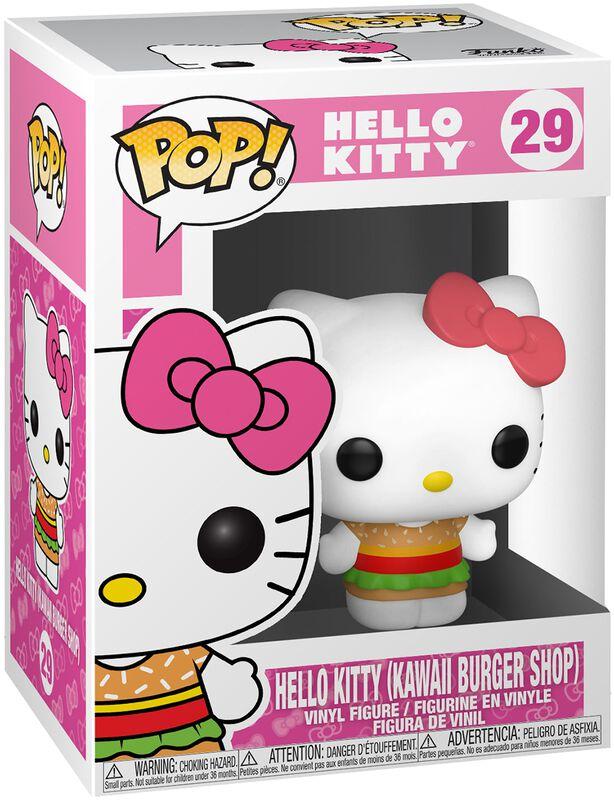 Figura Vinilo Hello Kitty (Kawaii Burger Shop) 29