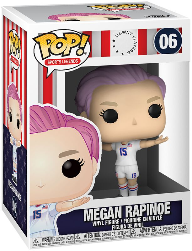 Football US Women's National Team - Figura vinilo Megan Rapinoe (Sport Legends) 06
