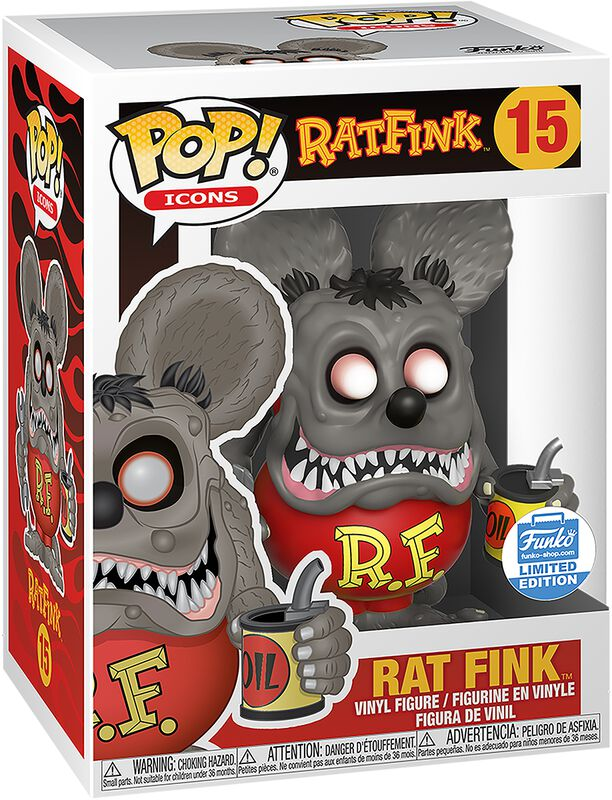Figura vinilo Ad Icons - Rat Fink (Funko Shop Europe) 15