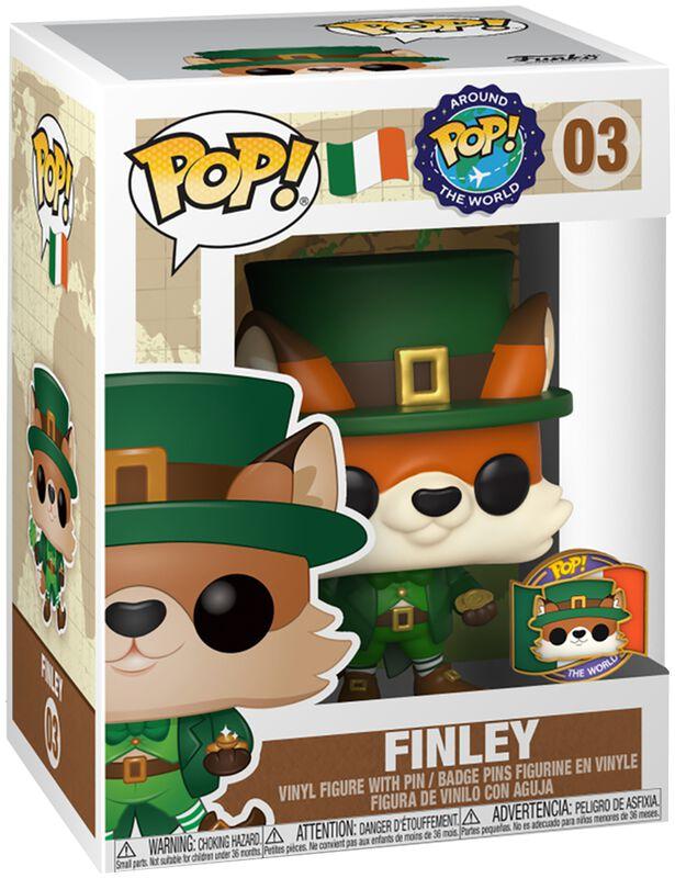 Around the World - Figura Vinilo Finley (POP and Pin) (Ireland) (Funko Shop Europe) 03