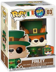 Around the World - Figura Vinilo Finley (POP and Pin) (Ireland) (Funko Shop Europe) 03