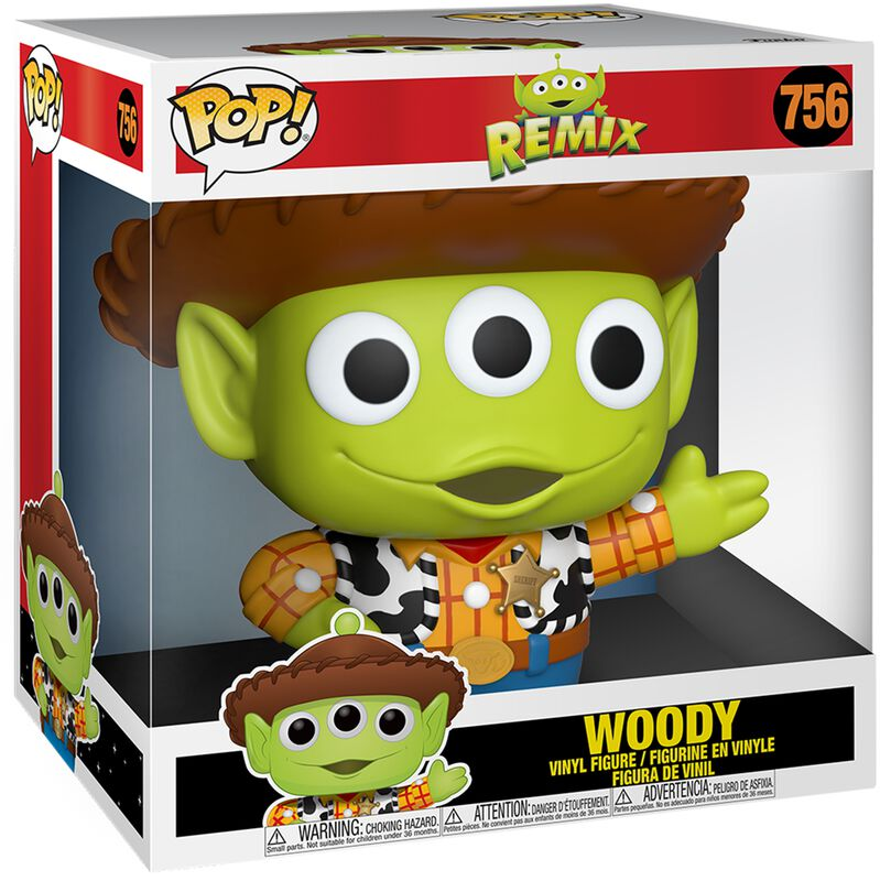 Figura vinilo Alien As Woody - (Life Size) 756