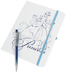 Secret Princess - Cuaderno con bolígrafo