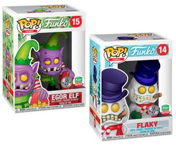 Figuras Vinilo Fantastik Plastik - Flaky and Egor Elf (2 Pack) (Funko Shop Europe) 14+15