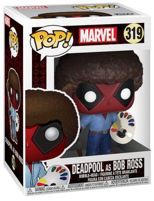 Figura Vinilo Deadpool as Bob Ross 319