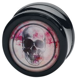 Rose Punch - Skull Black