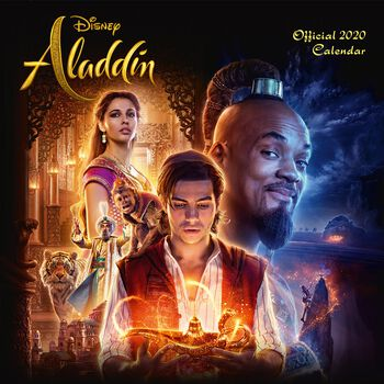 Aladdin -> 2020 Calendario de pared