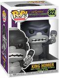 Figura Vinilo Treehouse Of Horror - King Homer 822