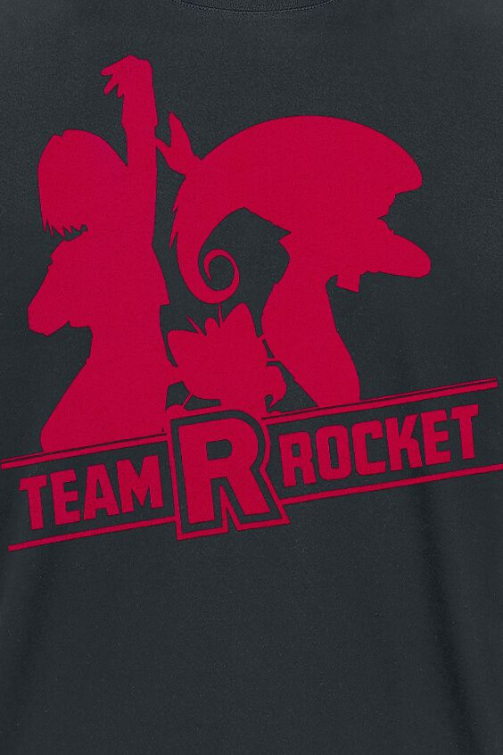Team Rocket | Pokémon Camiseta | EMP