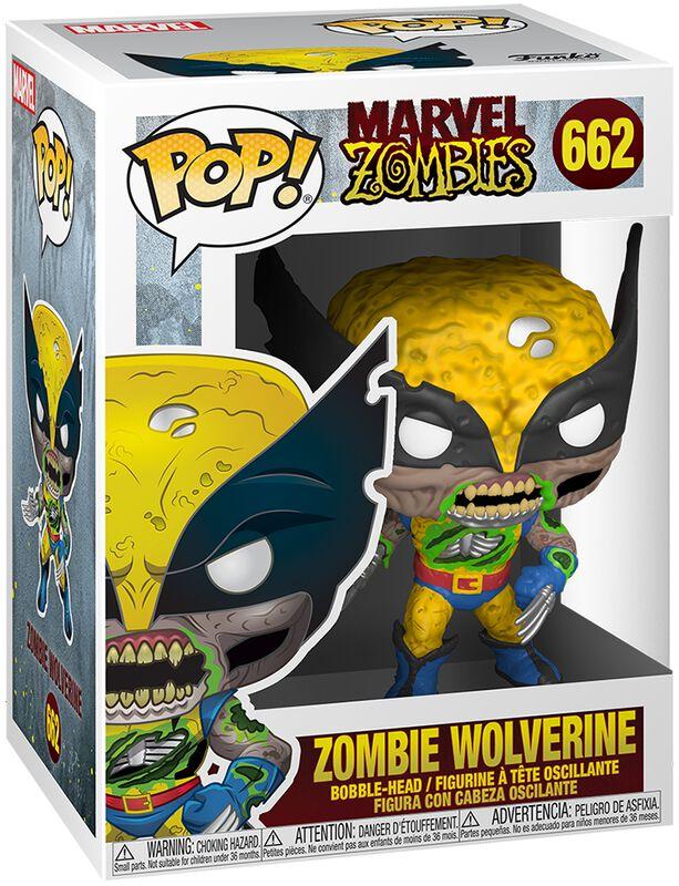 Figura vinilo Zombies - Zombie Wolverine 662