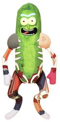 Galactic Plushies: Pickle Rick in Rat Suit (aprox 46 cm)