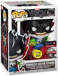 Figura vinilo Dr. Strange with Energy (GITD) 750