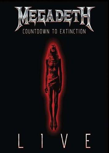 countdown to extinction live megadeth dvd emp