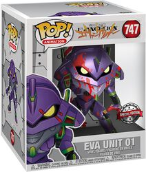 Eva Unit 1 (Oversized) (Metallic) Vinyl Figure 747