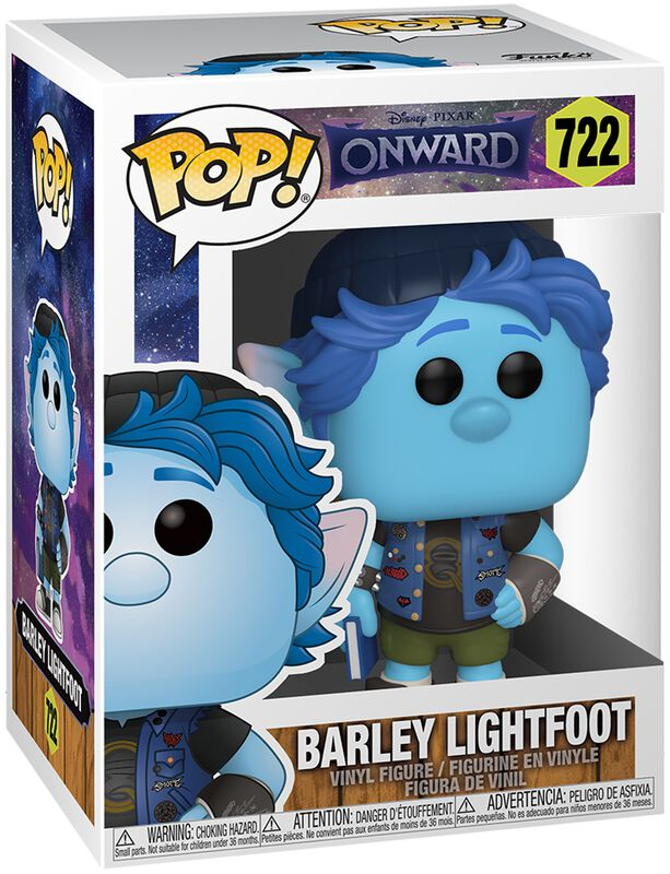 Figura Vinilo Barley Lightfoot 722