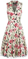 White Rose Floral Sleeveless Penny