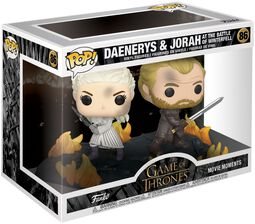 Figura Vinilo Daenerys and Jorah at the Battle of Winterfell (Movie Moments) 86