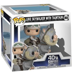 Empire Strikes Back 40th Anniversary - Figura Vinilo Luke Skywalker With TaunTaun (POP Deluxe) 366