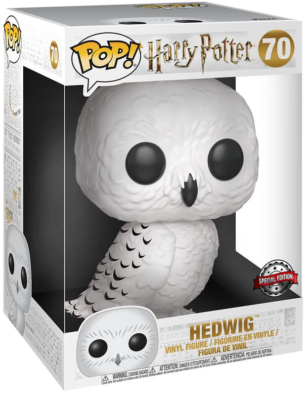 Figura Vinilo Hedwig (Life Size) 70