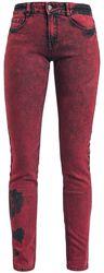 Skarlett in Red with Wash