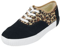 Leopard Cordones Indio Casual Lace-Up