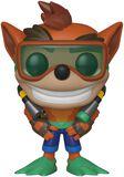 Figura Vinilo Crash Bandicoot with Scuba Gear 421