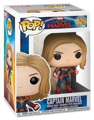 Figura Vinilo Captain Marvel (posible Chase) 425