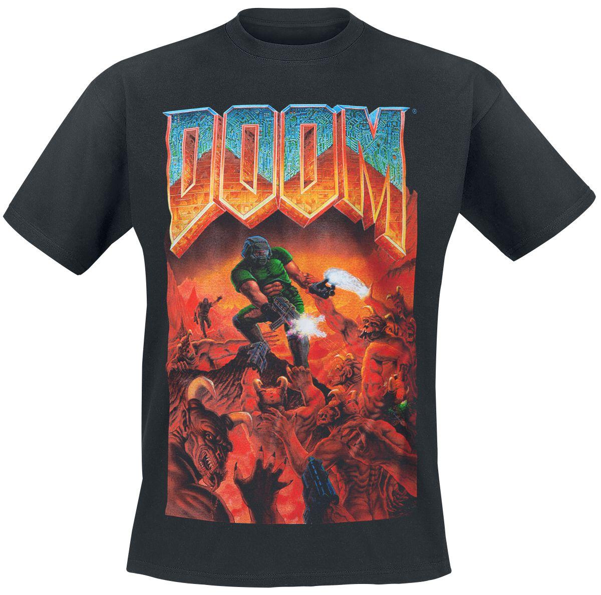Classic Boxart | Doom Camiseta | EMP